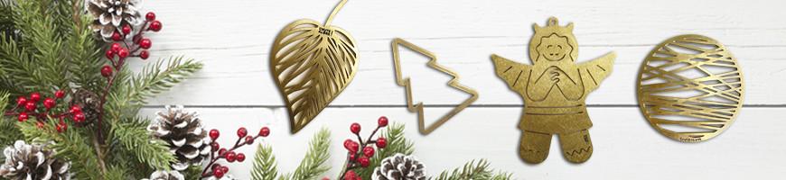 Décorations éco-responsables de Noël